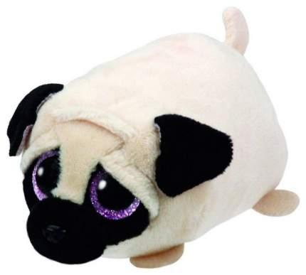 Мягкая игрушка ABtoys Собачка белая, 10 см