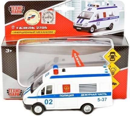 Полицейский внедорожник Технопарк Газель Полиция 20 см белый ct-1276-16