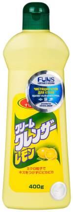 Крем чистящий для кухни и посуды Funs с ароматом лимона 400 мл