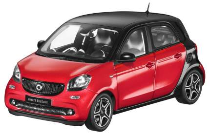 Модель Smart Forfour Prime B66960300 Scale 1:18 Black-Red