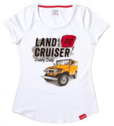 Женская футболка Toyota Land Cruiser 40 TMHRTTCL03XS White