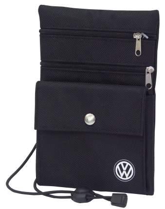 Нагрудный кошелек Volkswagen Logo Chest Wallet, Black, артикул MFA5739L00