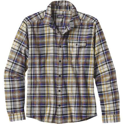 Рубашка Patagonia L/S LW Fjord Flannel, toasted white, S INT