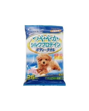 Влажные полотенца для собак Japan Premium Pet, с целебными свойствами меда, 25 шт