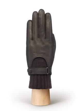 Перчатки женские Eleganzza OS645 коричневые 6.5