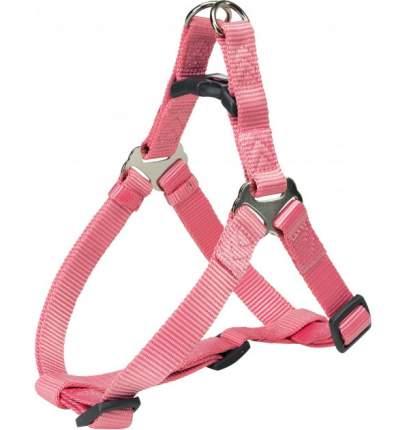 Шлейка для собак TRIXIE Premium One Touch, розовая, L, 65-80 см, 25 мм