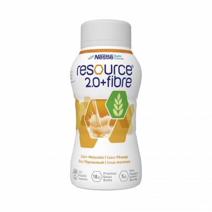 Смесь Nestle Resource 2.0+Fibre со вкусом персика от 3 лет 200 мл