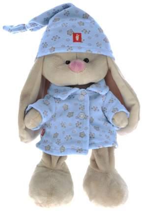 Мягкая игрушка BUDI BASA Зайка Ми в голубой пижаме, 23 см
