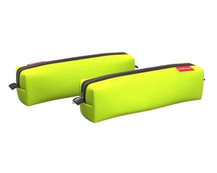 Пенал квадро mini ErichKrause® 210x50x50мм Neon® Yellow