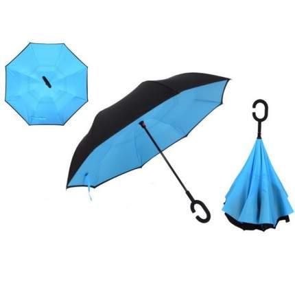 Зонт-трость UpBrella голубой