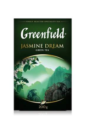 Чай зеленый Greenfield листовой jasmine dream 200 г