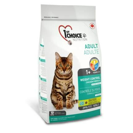Сухой корм для кошек 1st choice Adult Weight Control, контроль веса, курица, 5,44кг