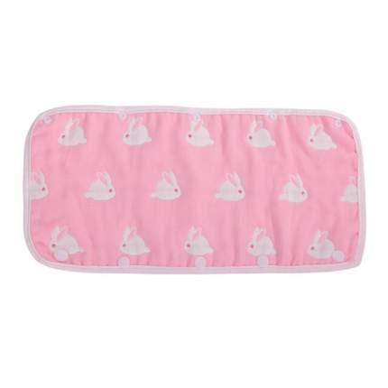 Универсальный чехол на бампер Happy Mom из 100% хлопка розовый