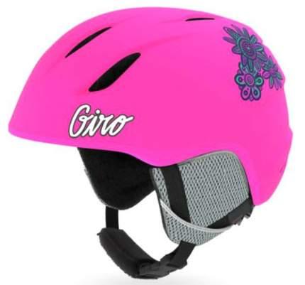 Горнолыжный шлем детский Giro Launch 2019, темно-розовый, XS