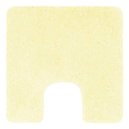 Коврик для туалета Spirella Highland, 55х55см, полиэстер, цвет желтый