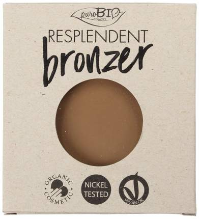 Бронзер PuroBio Resplendent Bronzer 01 Бледно-коричневый 9 г