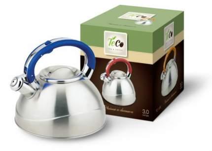 Чайник для плиты TECO TC-109 со свистком,нержавеющая сталь