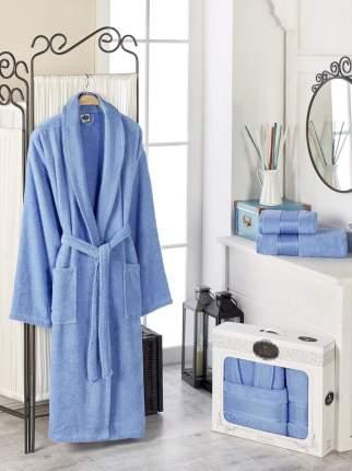 Банный комплект с халатом Philippus Nelda Цвет: Голубой (xxL)