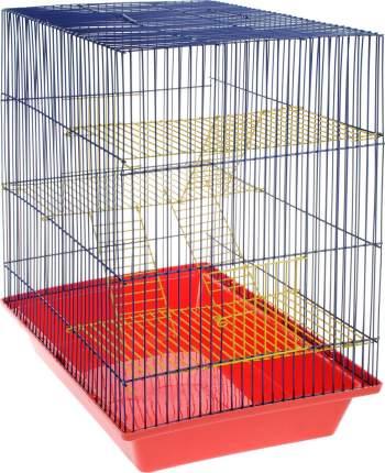 Клетка для грызунов ZooMark Гризли, 4-этажная, 41х30х52см