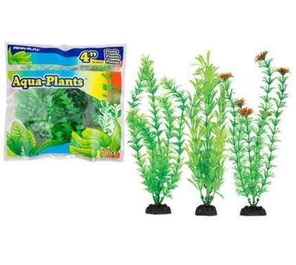 Набор пластиковых растений Penn-Plax Aqua-Plants Green, с грузом, зеленый, 20 см, 6 шт