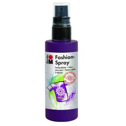 Краска-спрей Marabu Fashion Spray Для ткани 171950039 баклажан 100 мл