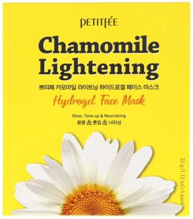 Маска для лица Petitfee Chamomile Lightening Hydrogel Face Mask 5x32 г