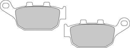 Тормозные колодки задние Ferodo FDB531P для мотоциклов