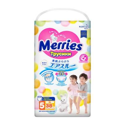 Подгузники-трусики Merries XL (12-22 кг), 38 шт.