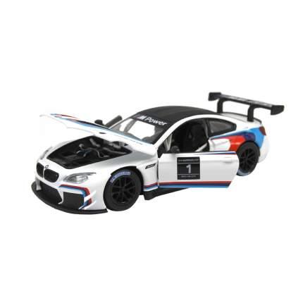 Машинка металлическая Автопанорама 1:24, BMW M6 GT3, JB1200218