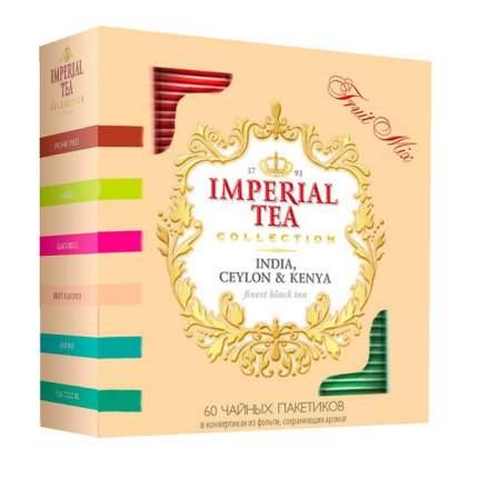 Чай императорский фруктовое ассорти Fruit Mix коллекционный 60 пакетов