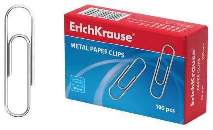 Скрепки ErichKrause 7857 5 см 100 шт