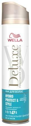 Лак для волос Wella Deluxe Hydro Protect & Style 250 мл
