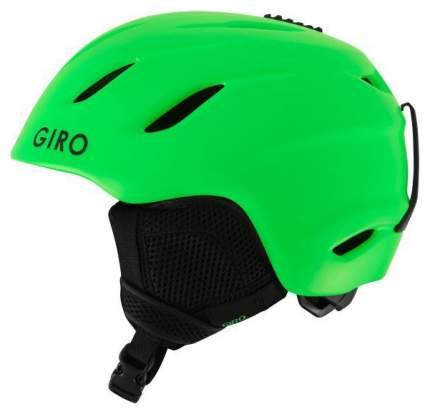 Горнолыжный шлем детский Giro Nine Jr 7082861 2019, зеленый, S