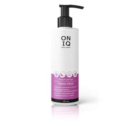 Лосьон для рук Oniq с ароматом амбры и лилии, 200 мл