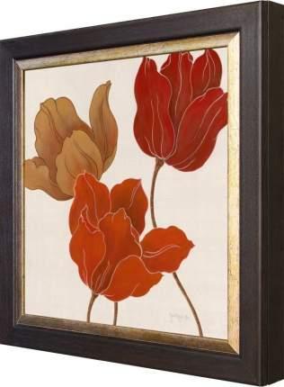 """Ключница """"Tava Studios - Austin's Tulips I"""" Венге"""