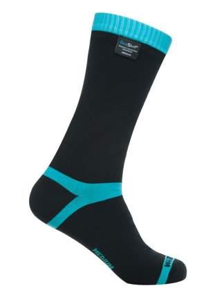 Носки DexShell Waterproof Coolvent 2016 черно-голубые, размер 47-49