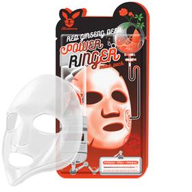 Маска для лица тканевая RED GINSENG DEEP POWER RINGER MASK PACK