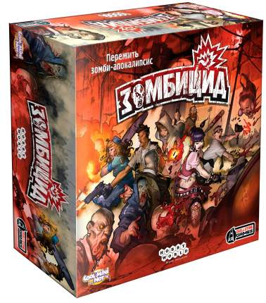 Настольная игра Hobby World Зомбицид