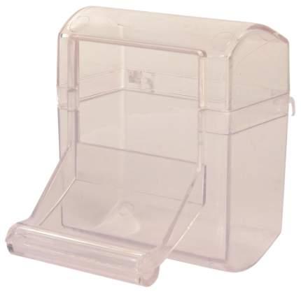 Кормушка для птиц TRIXIE, пластик, 70 мл, прозрачный