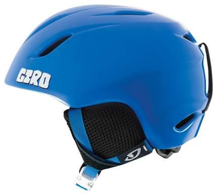 Горнолыжный шлем детский Giro Launch Plus Jr 2019, зеленый/голубой, XS