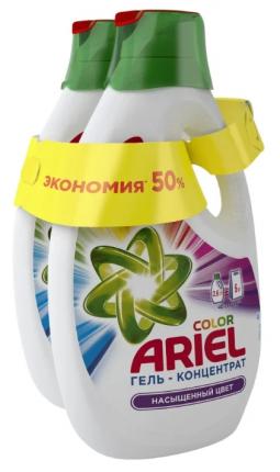 Гель для стирки Ariel color 2*2.6 л