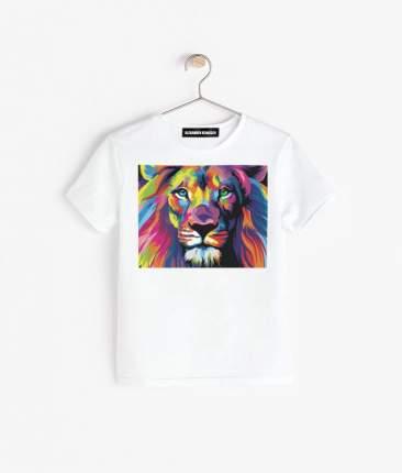 Футболка Alexander Konasov Colored lion р.36