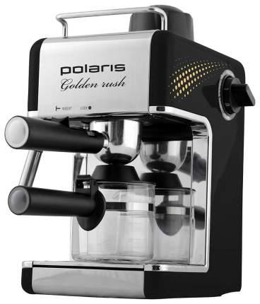 Рожковая кофеварка Polaris PCM 4006A Golden Rush Black