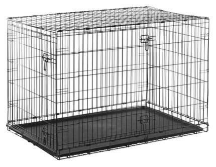 Клетка для собак Savic Dog Cottage Д 76 х Ш 49 х В 55 см, Чёрный
