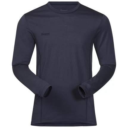Лонгслив Bergans Soleie Shirt 2018 мужской темно-синий/зеленый, M