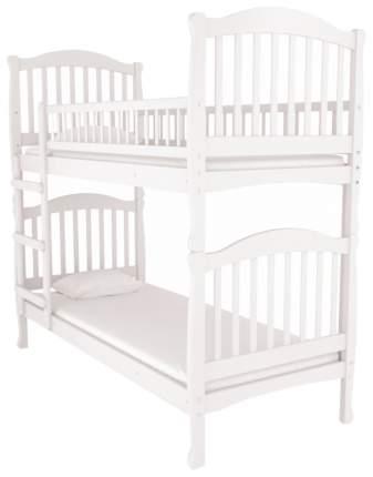 Двухъярусная кровать Nuovita Altezza Due Bianco Белый