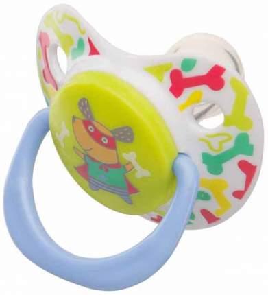 Соска-пустышка Happy Baby Хрю-хрю силикон ортодонтической формы 0-12