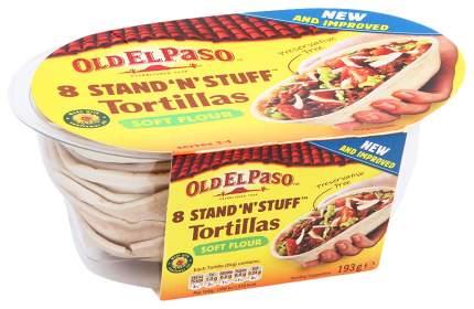 Тортилья-лодочки Old El Paso мягкие пшеничные 8 штук 193 г