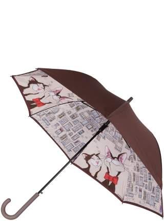 Зонт-трость автомат Eleganzza T-05-0387D бежевый