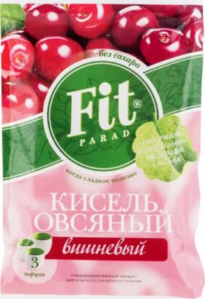 Кисель овсяный Fit Parad вишневый 50 г